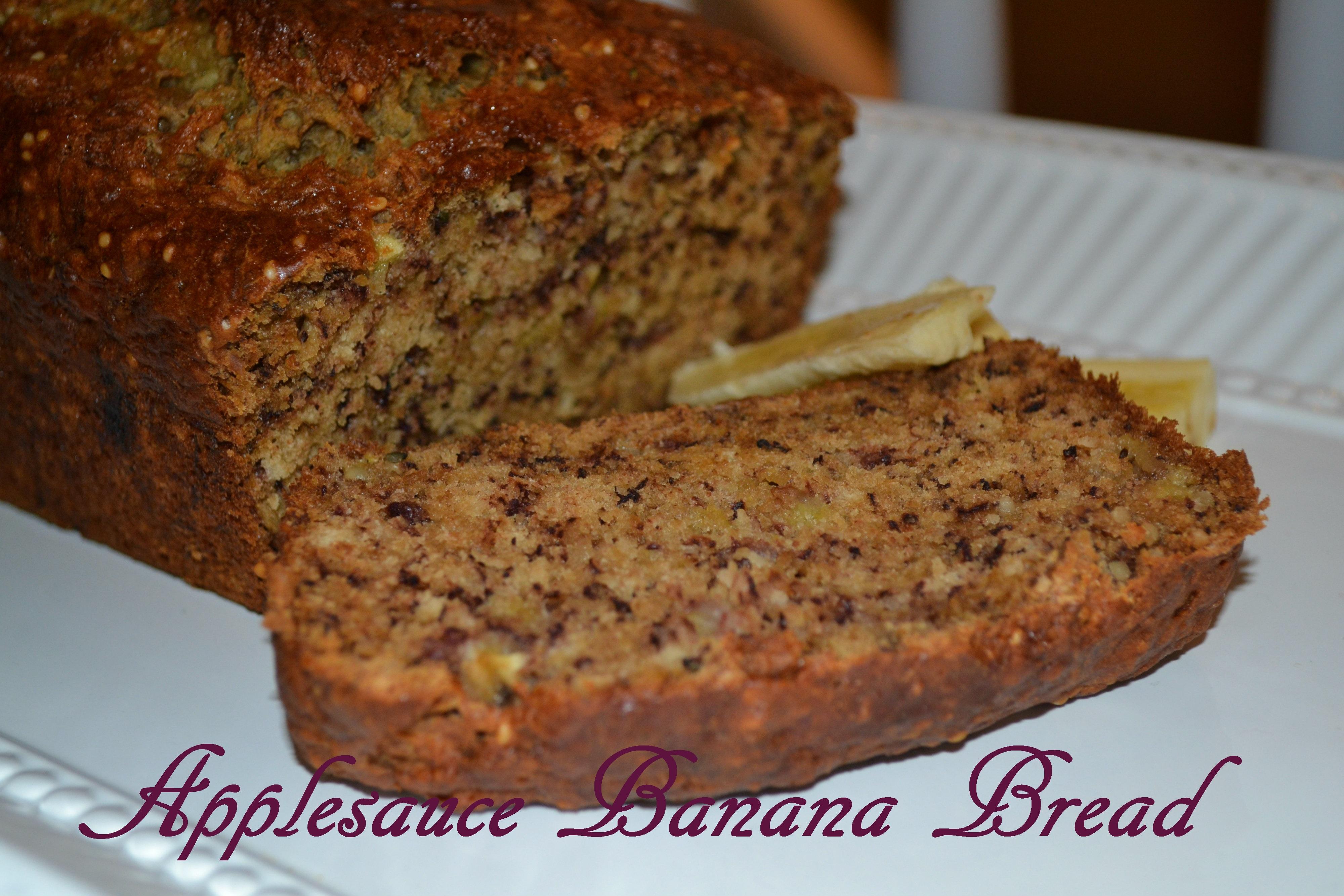 Applesauce Banana Bread | yummyforyourtummy♥